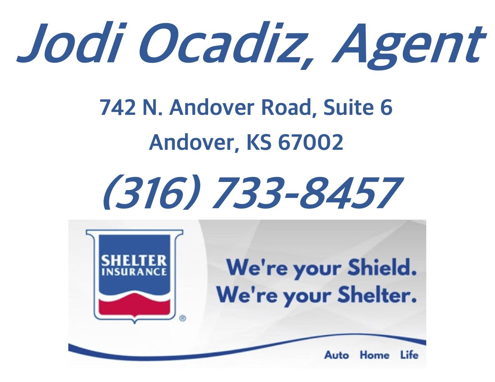 Black & Gold Sponsors - Shelter Insurance - Jodi Ocadiz - Logo