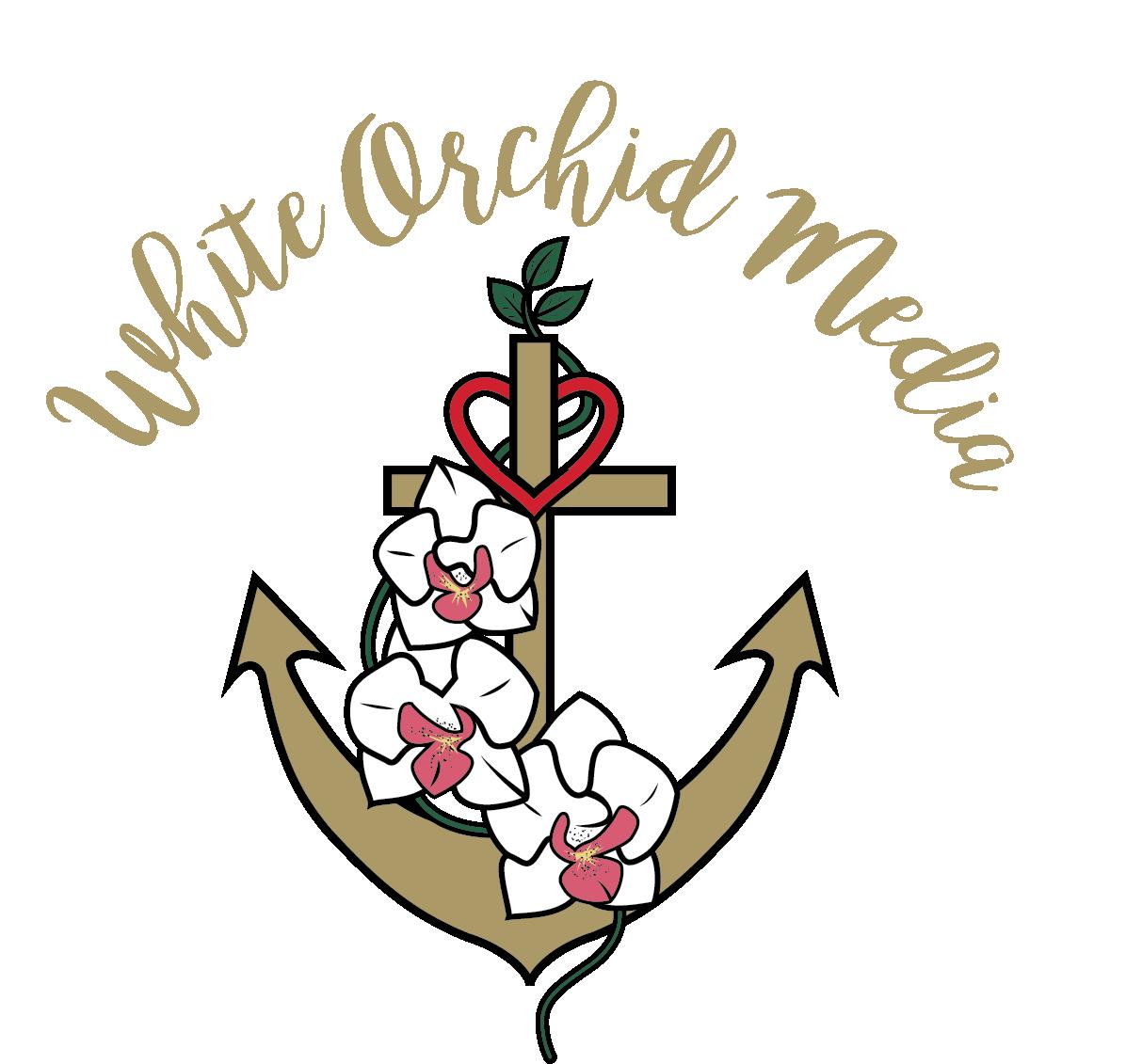 Tee Sponsors - White Orchid Media - Logo