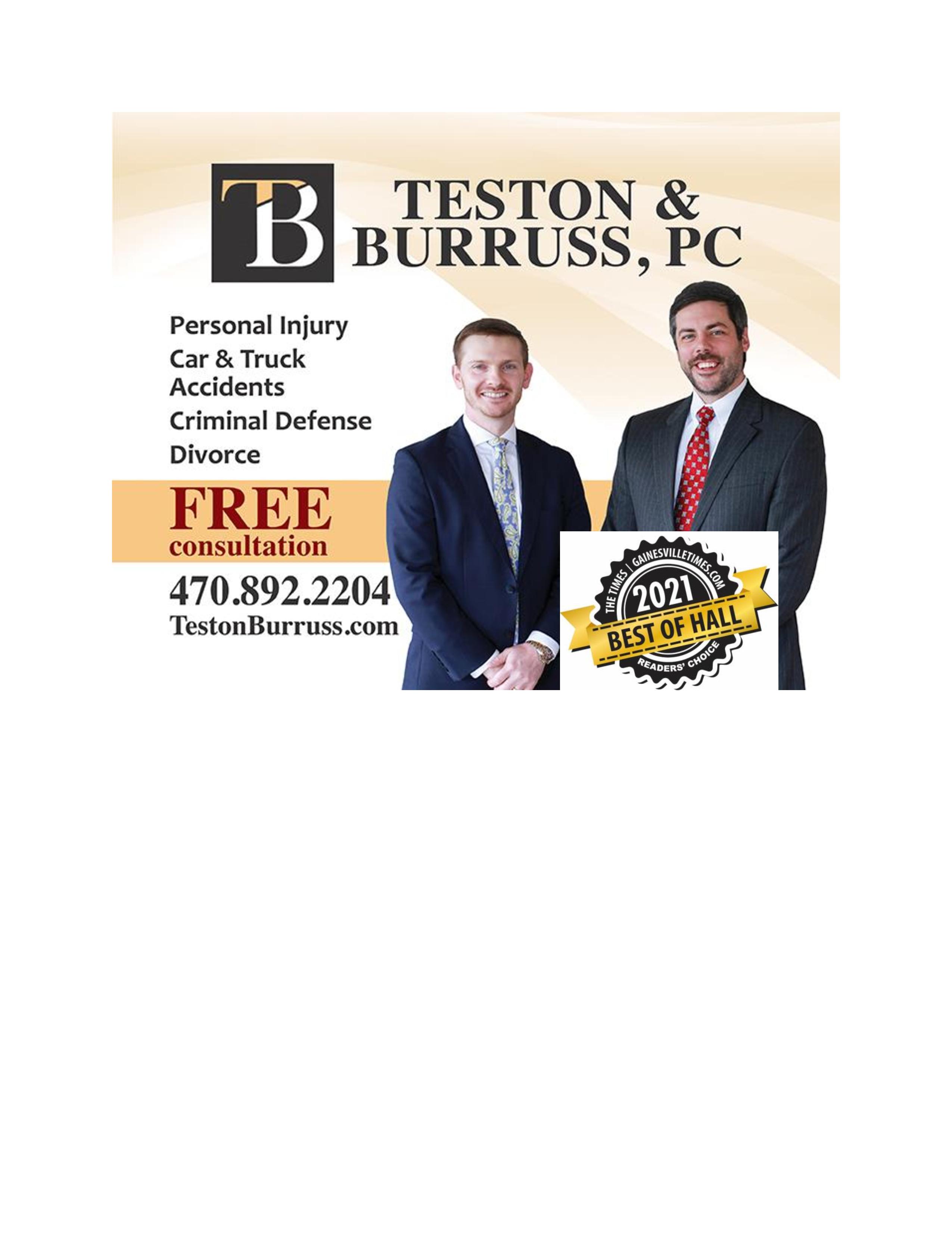 Teston & Burruss