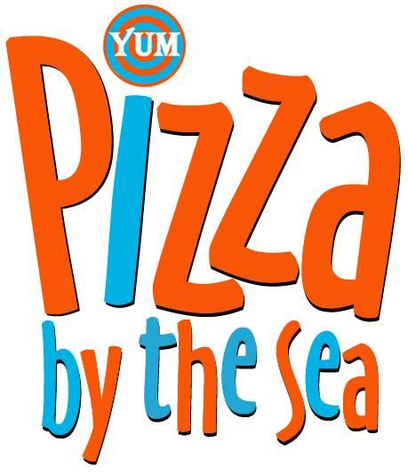 GOLF CART SPONSOR - Pizza By The Sea - Logo