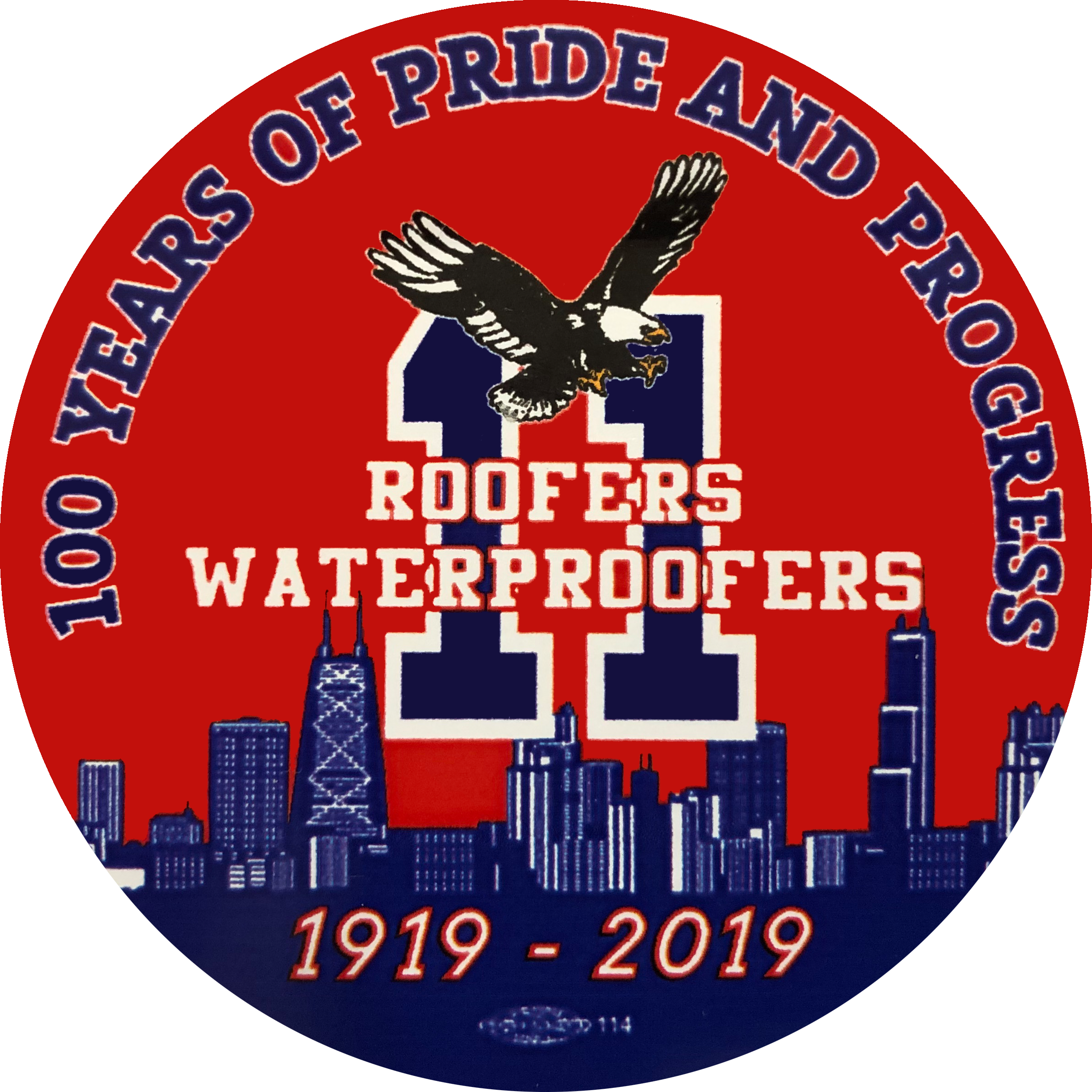 Bloody Mary Bar Sponsor (Sponsor's Banner @ Bloody Mary Bar Table) - Chicago Roofers & Waterproofers Charitable Foundation - Logo