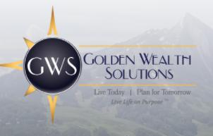 Hole sponsor - Golden Wealth Solutions, Inc. - Logo