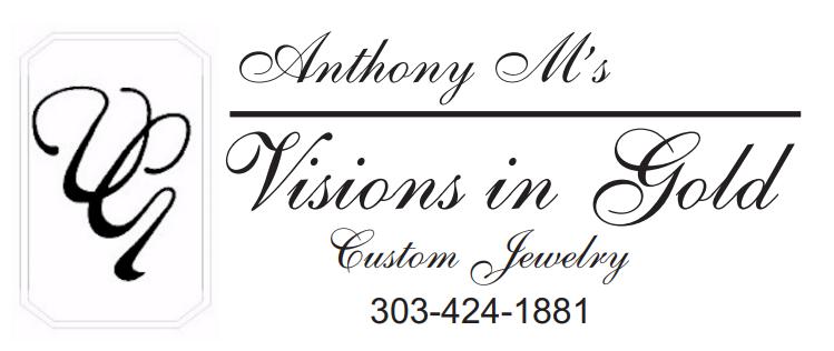 Breakfast Sponsor - Anthony M's Visions in Gold-  Gayle Mohr - Logo