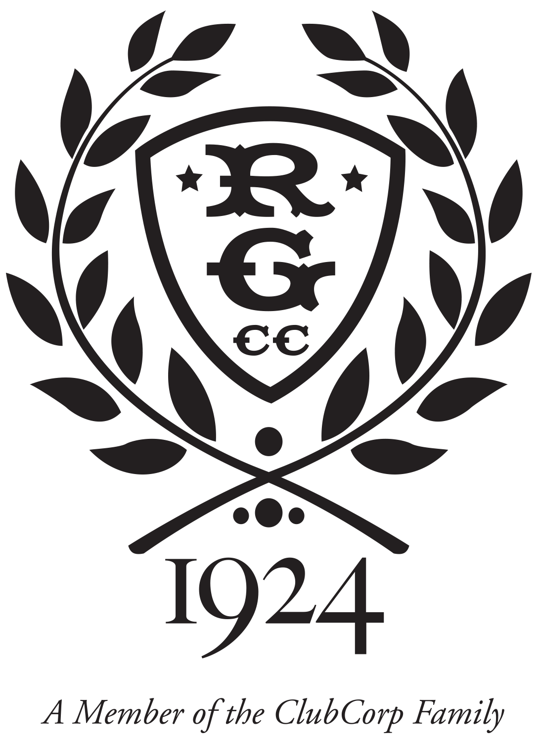 Raffle Prize Donor - Rolling Green Country Club - Logo