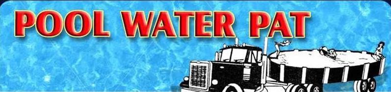 Pool Water Pat