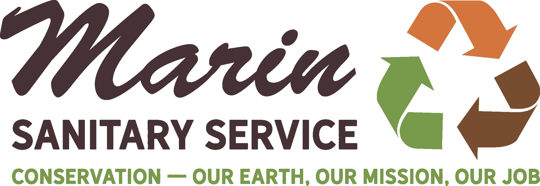 Presenting Sponsor - Marin Sanitary Service - Logo