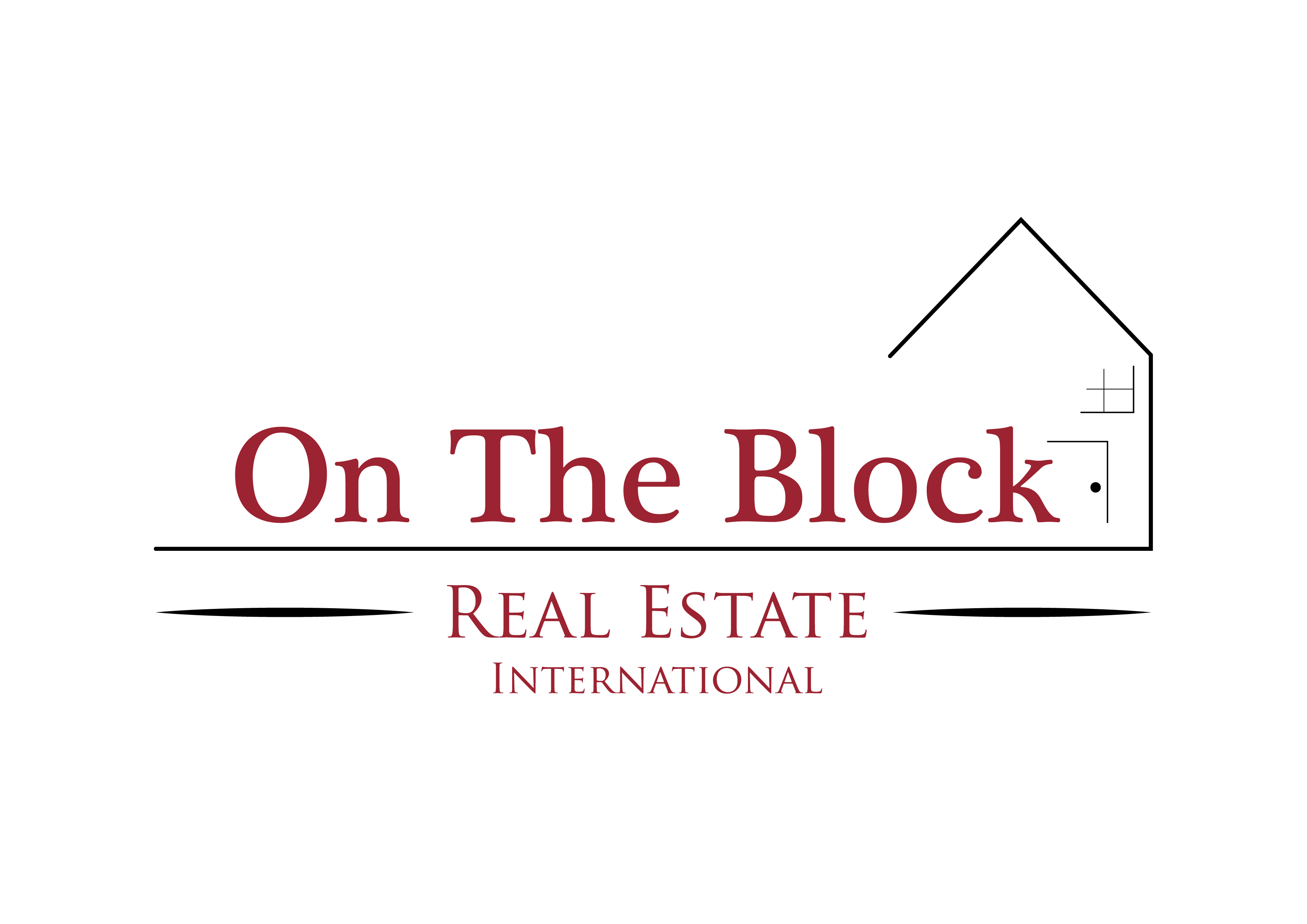 Closest to the Pin Contest - On The Block Real Estate - Logo