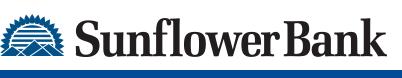 Hole sponsor - Sunflower Bank - Logo