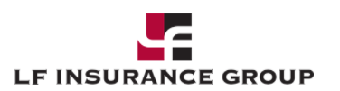 Hole sponsor - LF Insurance Group - Logo