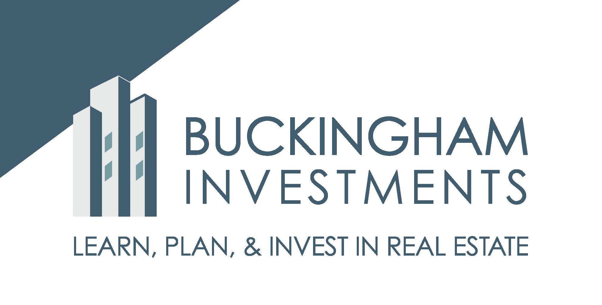 Green Sign - Buckingham Investments - Logo
