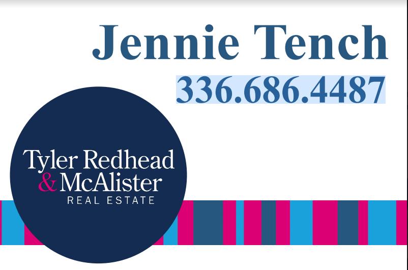 Hole Sponsor - Jennie Tench Realtor - Logo