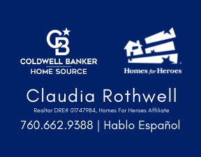 Claudia Rothwell, Realtor & Homes  For Heroes Affiliate