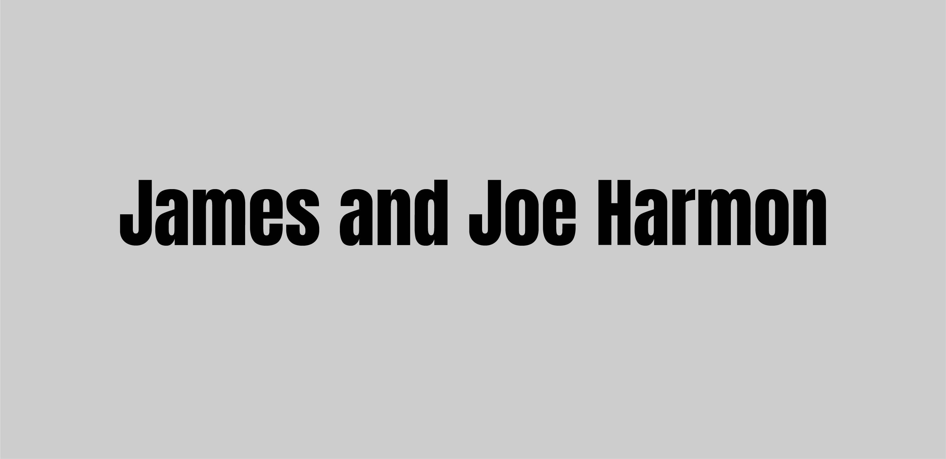 Hole Sponsor - James and Joe Harmon - Logo