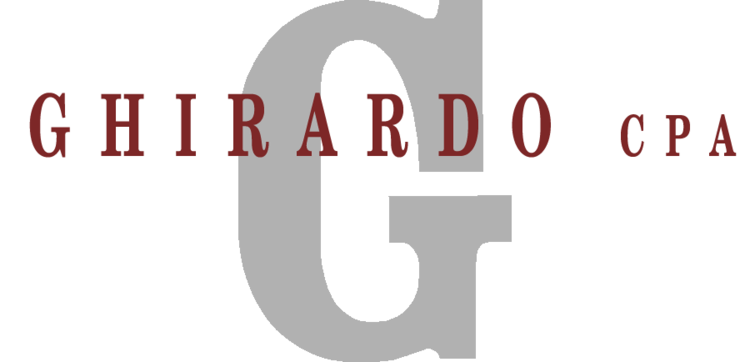 Flag Pin Sponsors - Ghirardo CPA - Logo