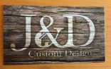 Silver Sponsor - J & D Design - Logo