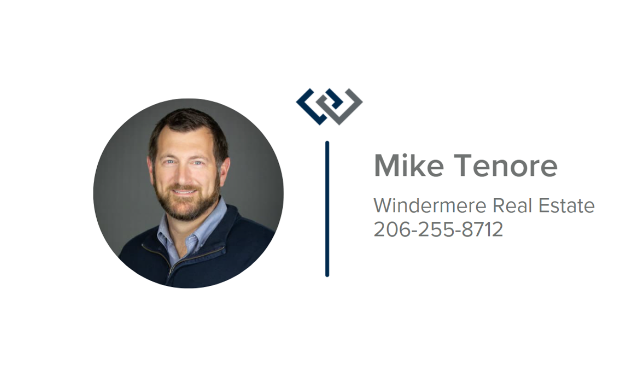 Silver - Hole Sponsor - Mike Tenore, Windermere Real Estate - Logo