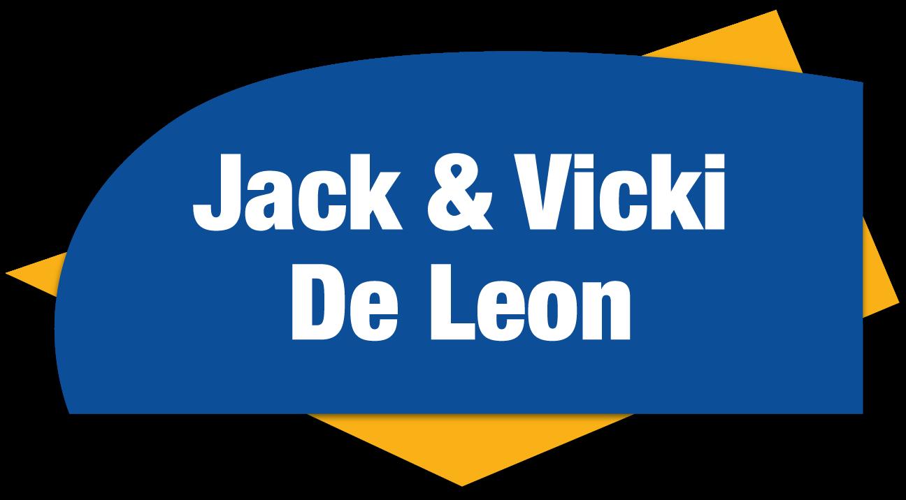 Event Bronze Sponsors - Jack & Vicki De Leon - Logo