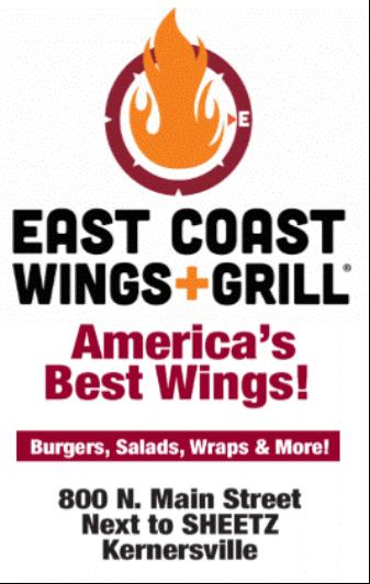 Hole Sponsor - East Coast Wings - Logo