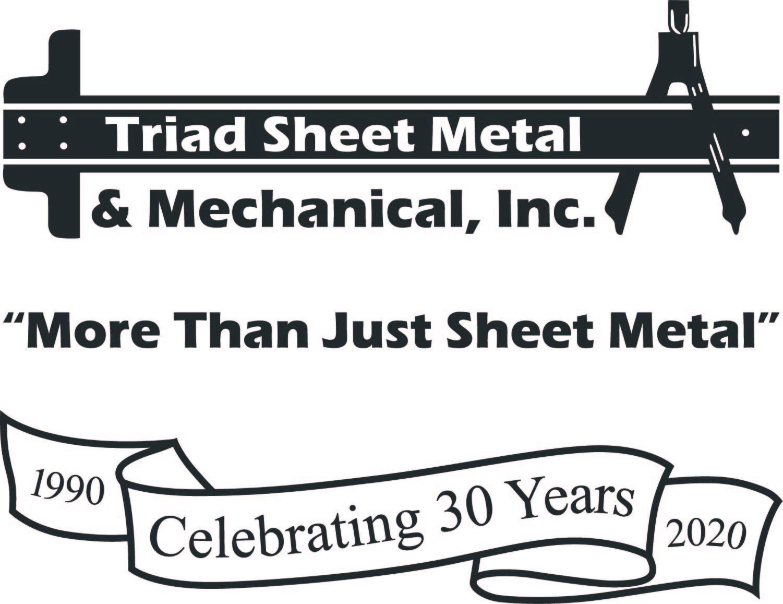 Home Run Sponsor - Triad Sheet Metal - Logo