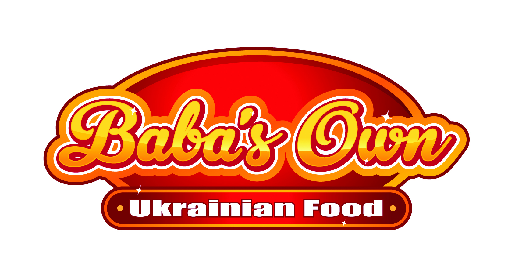 Friends of Rotary - Baba's Own Ukrainian Food - Logo