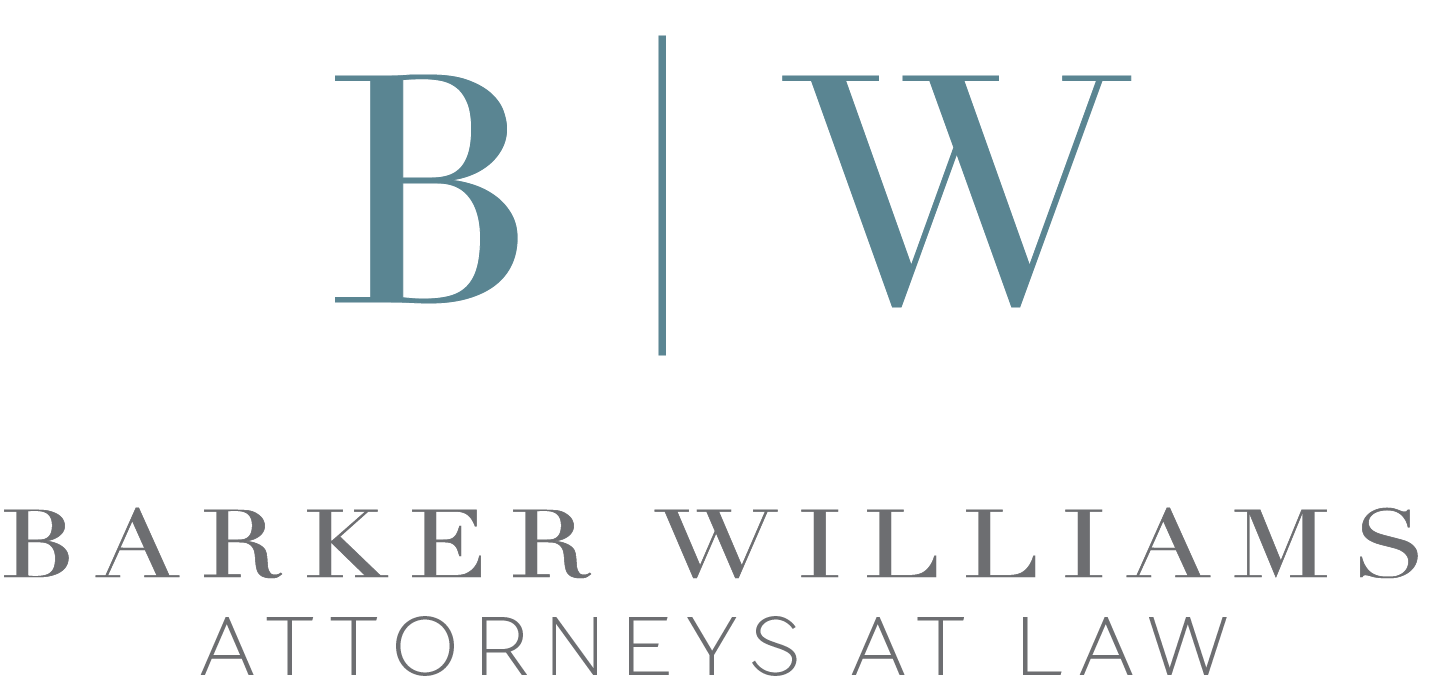 PRACTICE PUTTING GREEN SPONSOR - Barker Williams Attornys At Law - Logo