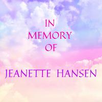 IN MEMORY OF - In Memory of Jeanette Hansen - Logo