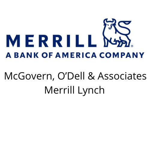 HOLE SPONSOR - McGovern, O'Dell & Associates Merrill Lynch - Logo