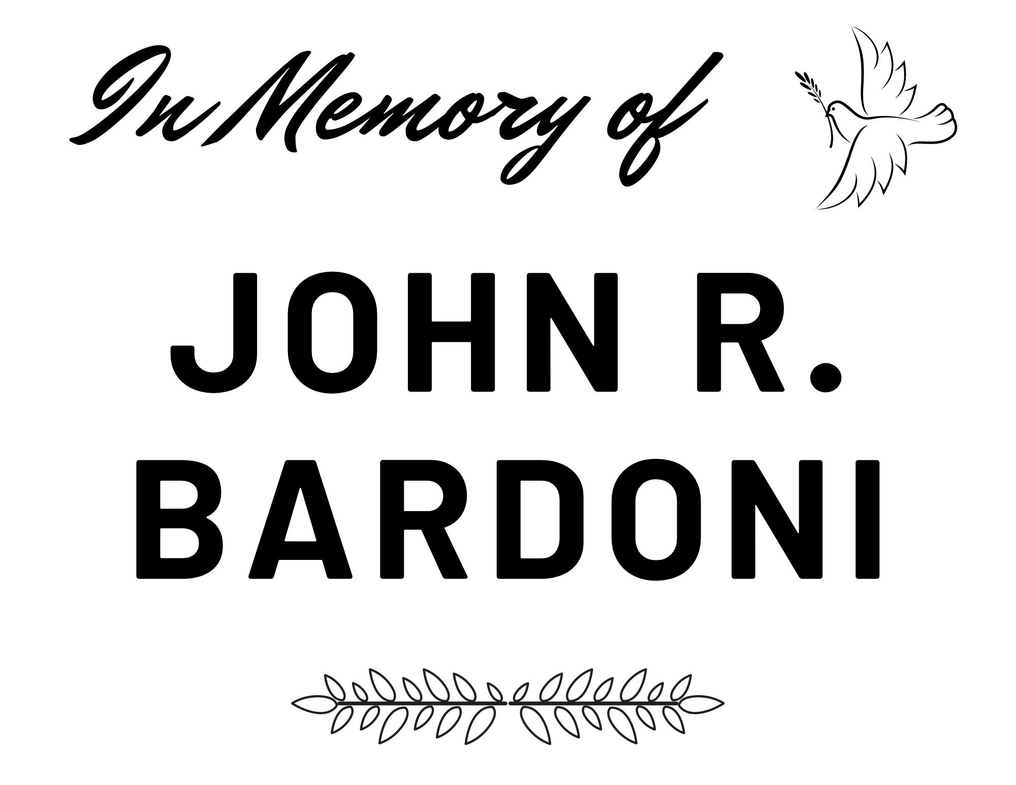 The President's Cup - In Memory of John R. Bardoni - Logo