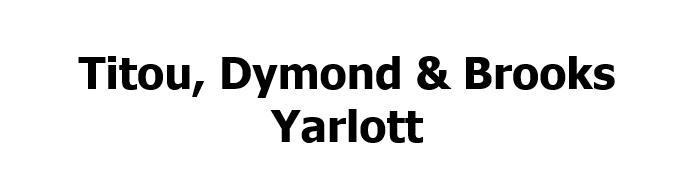 Titou, Dymond & Brooks Yalott