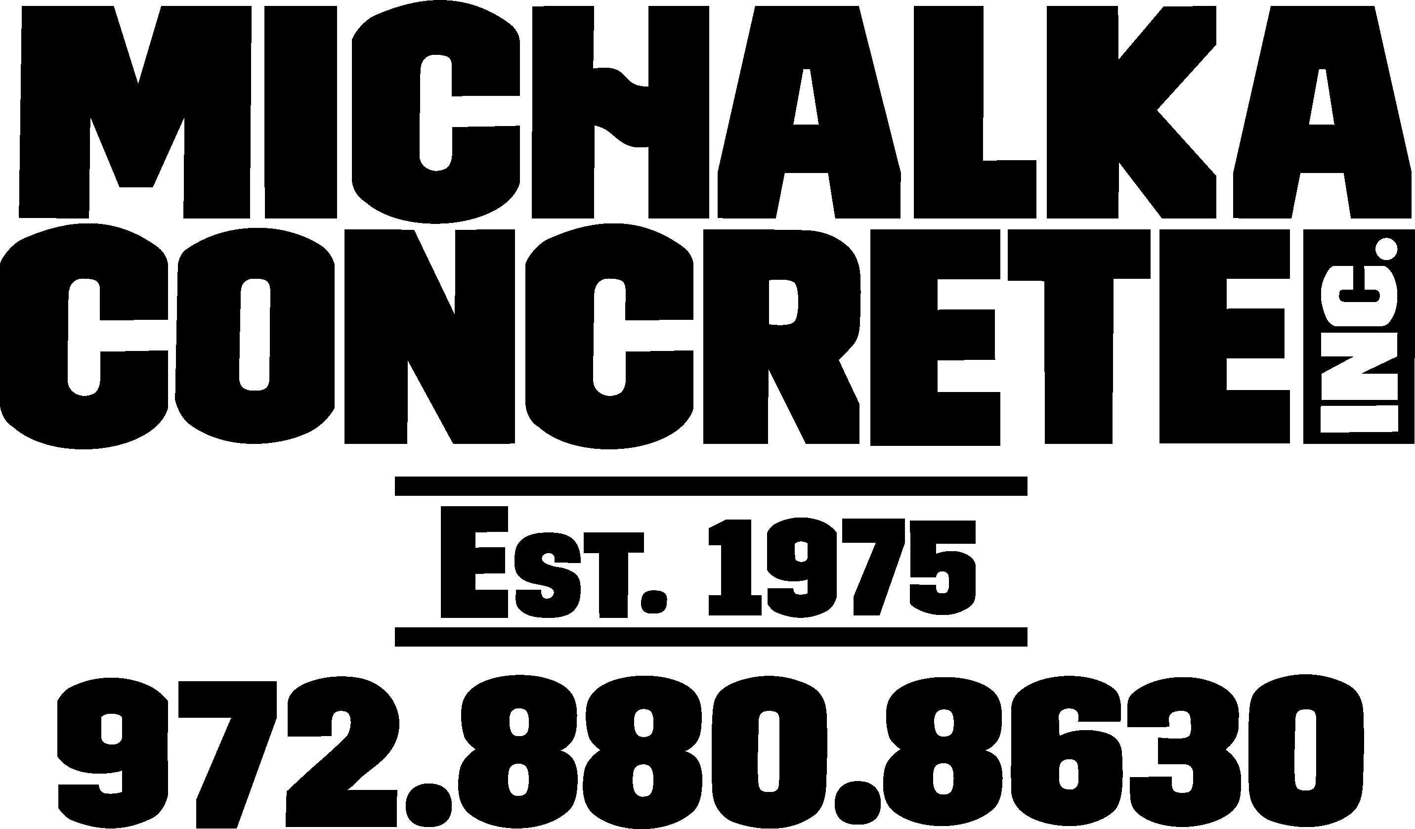 Hole Sponsors - Michalka Concrete - Logo