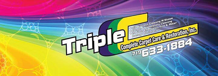 Hole Sponsor - Triple C Complete Carpet Care & Restoration, Inc. - Logo