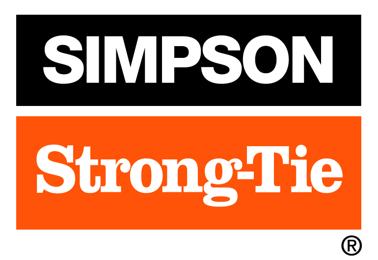 Major Sponsor - Simpson Strong-Tie - Logo