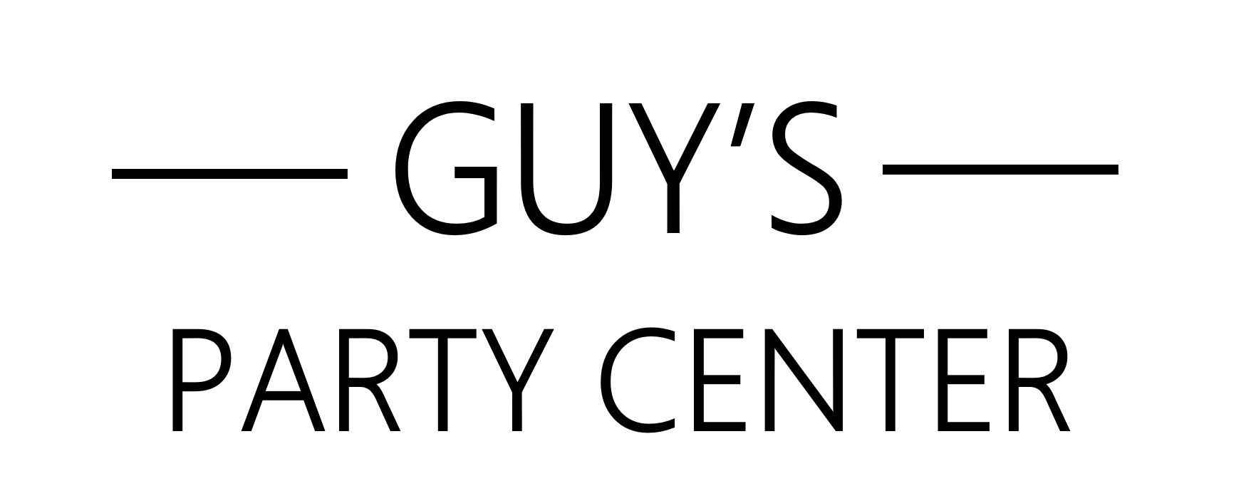Guy's Party Center