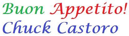 Dinner Sponsor - Chuck Castoro - Logo