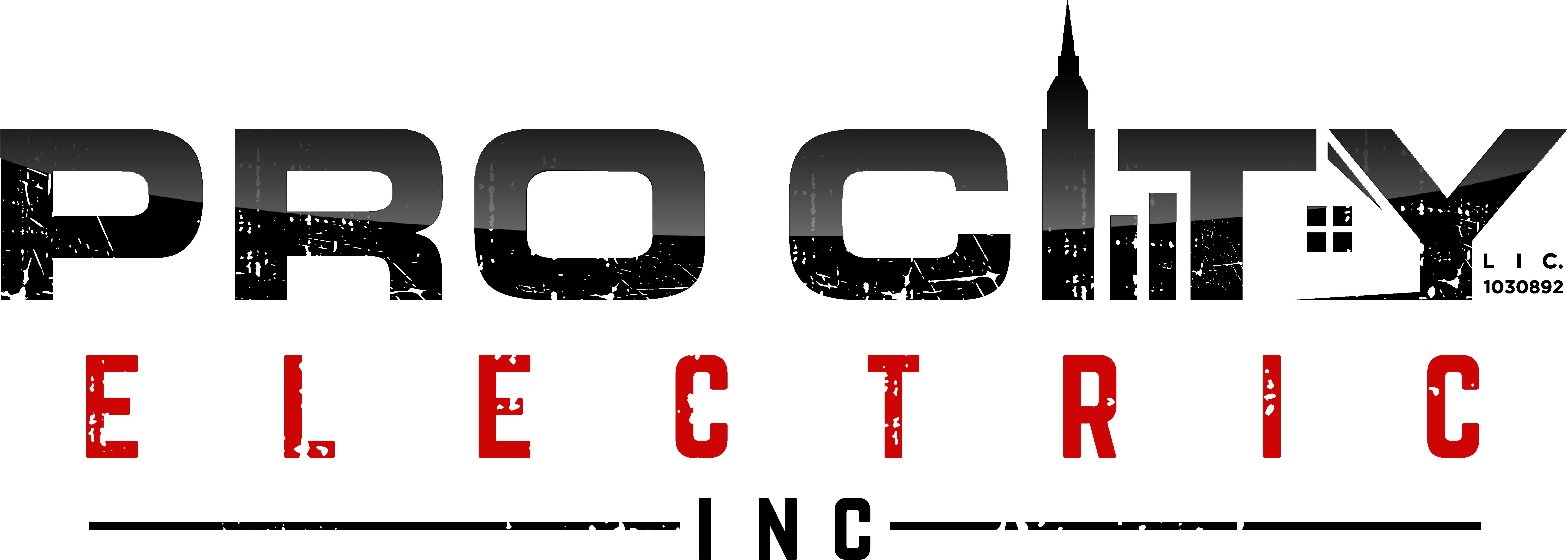HOLE 1 SPONSOR - Pro City Electric, Inc. - Logo