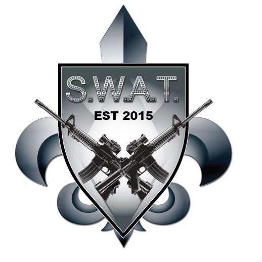 Krewe of S.W.A.T. Golf Tournament               Who's Your Caddy? logo
