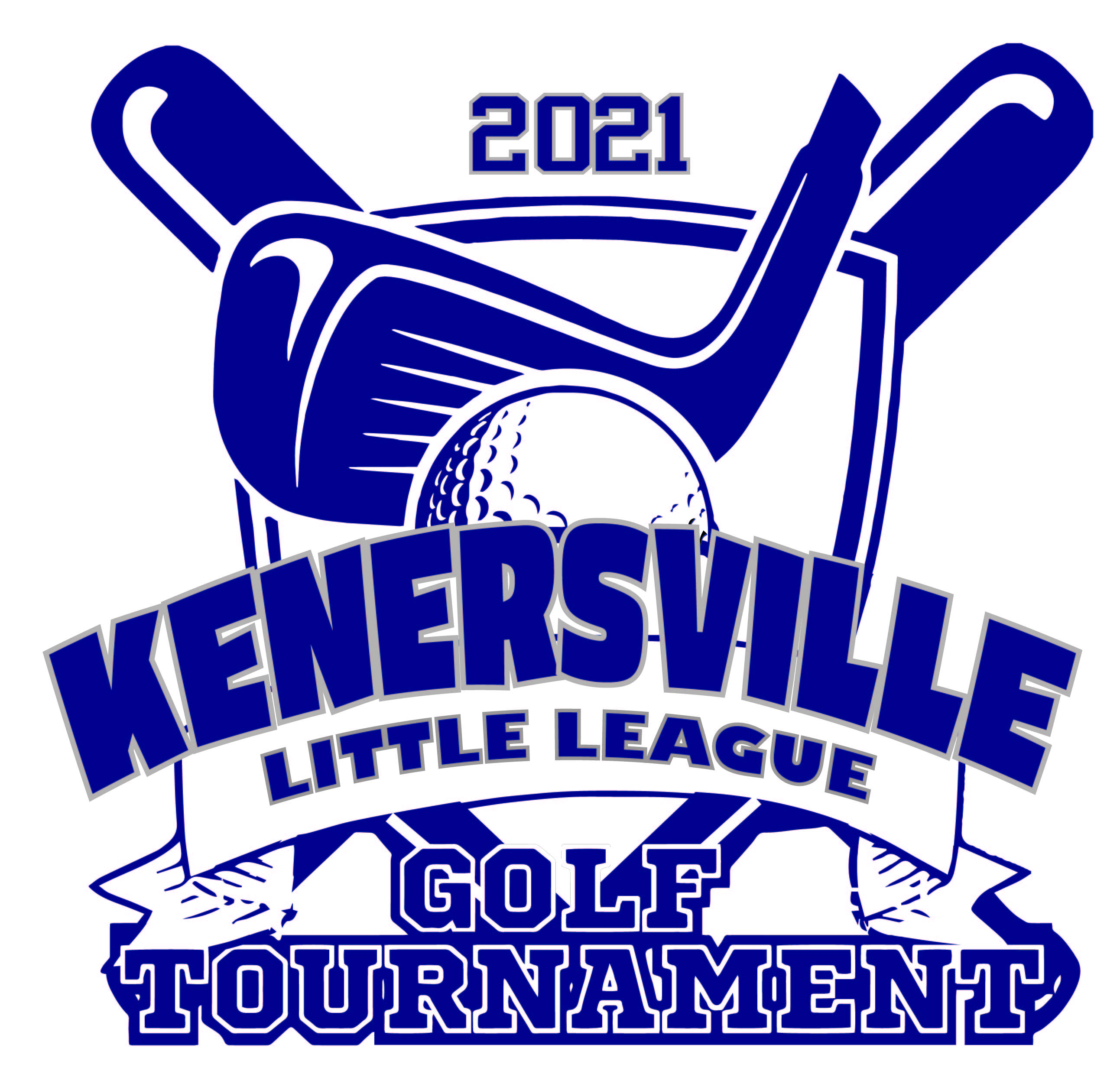 Kennersville Little League Golf Tournament logo