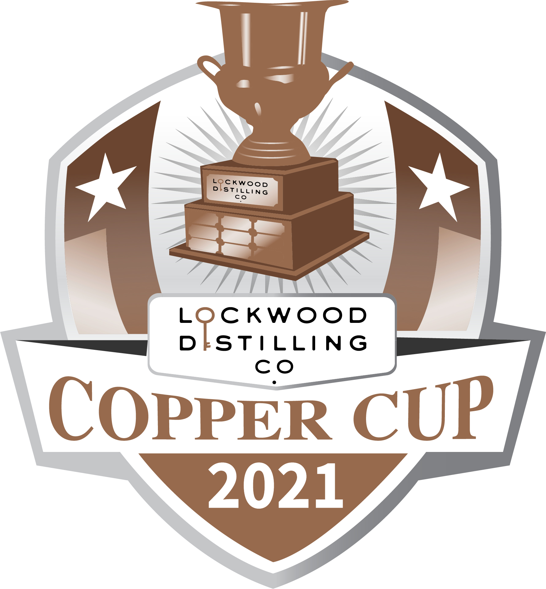 Lockwood Distilling Co.'s Inaugural Copper Cup logo