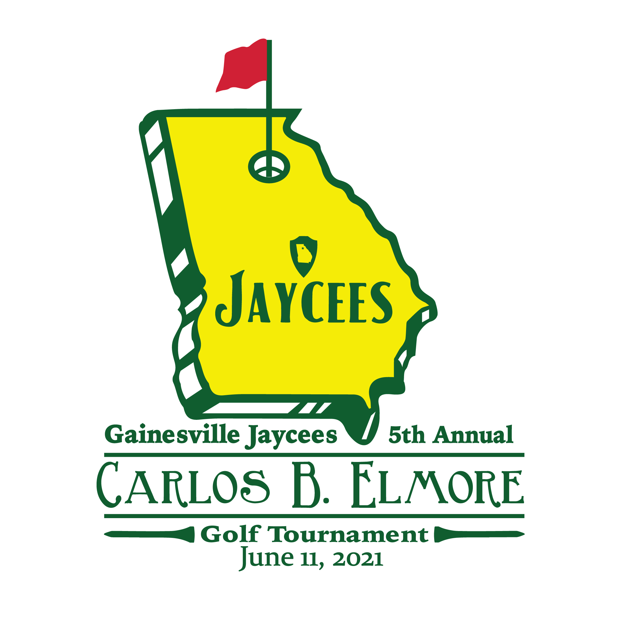 5th Annual Carlos B. Elmore Golf Tournament logo