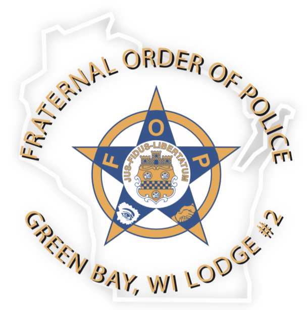 21st Annual Green Bay Fraternal Order of Police Golf Tournament logo