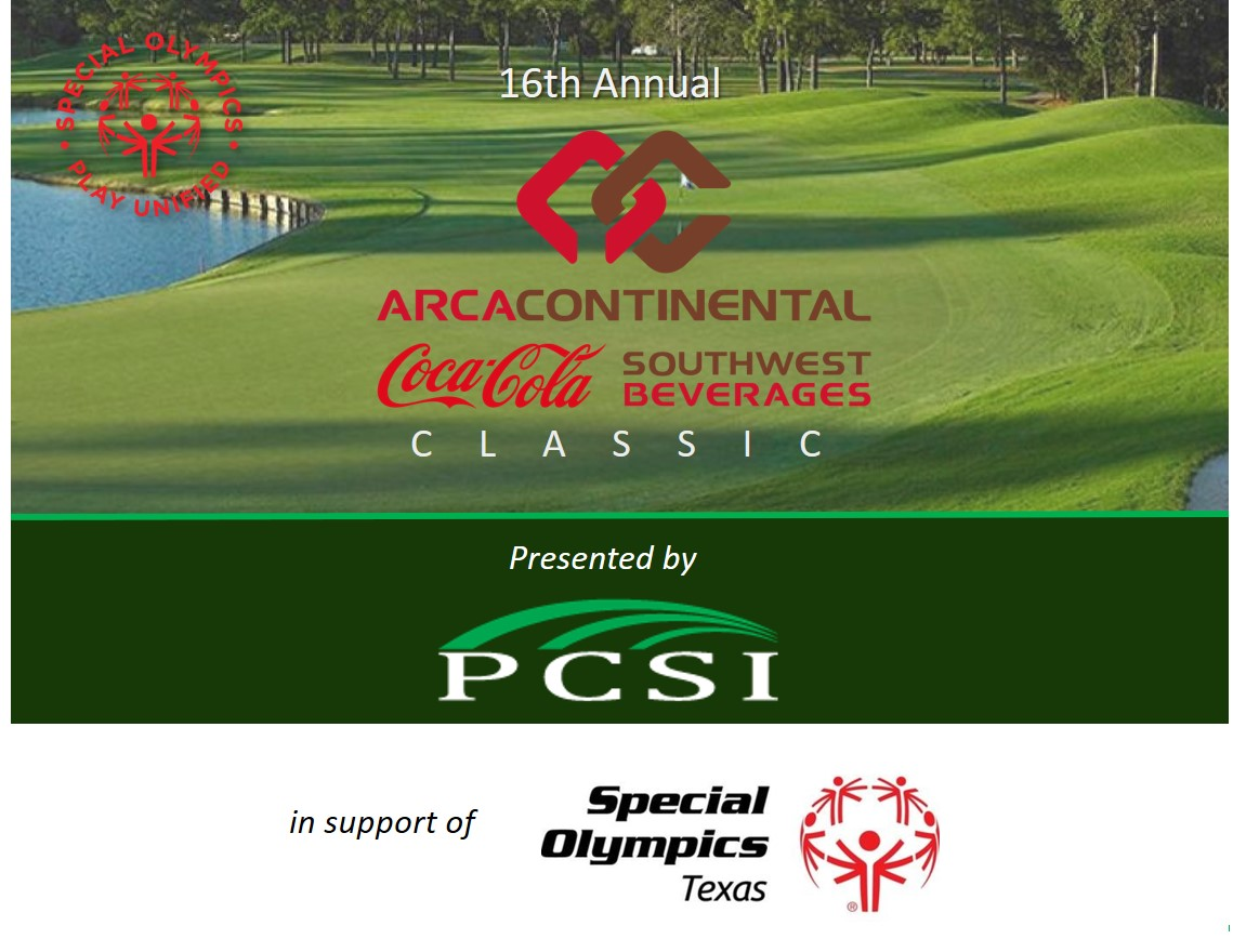 Coca Cola Classic Golf Tournament for Special Olympics Texas - Presented by PCSI logo