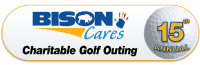 15th Annual BisonCares Charitable Golf Outing logo
