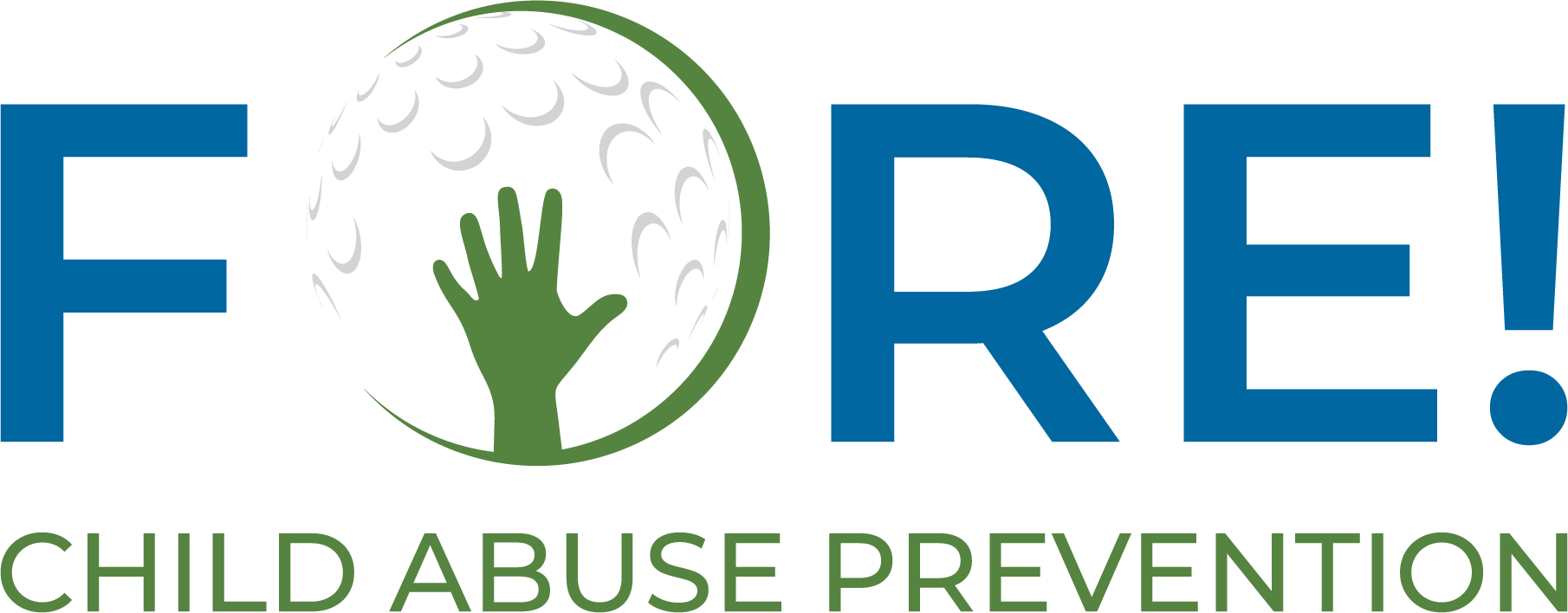 FORE! Child Abuse Prevention logo