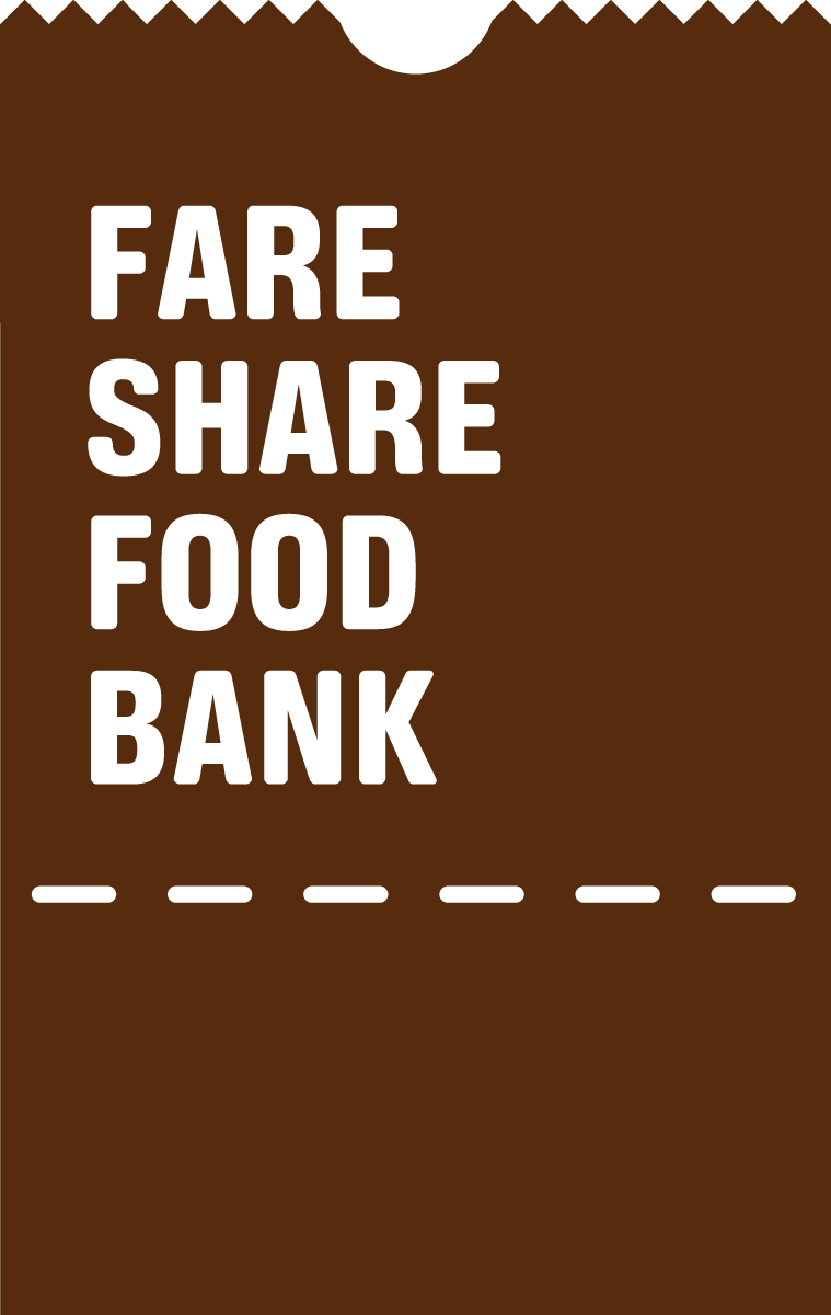 Golf 4 the Food Bank logo