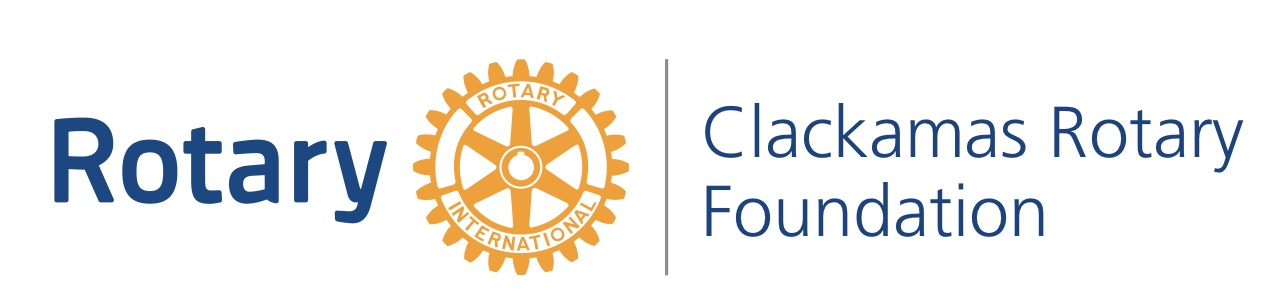 Clackamas Rotary Foundation Golf Tournament logo
