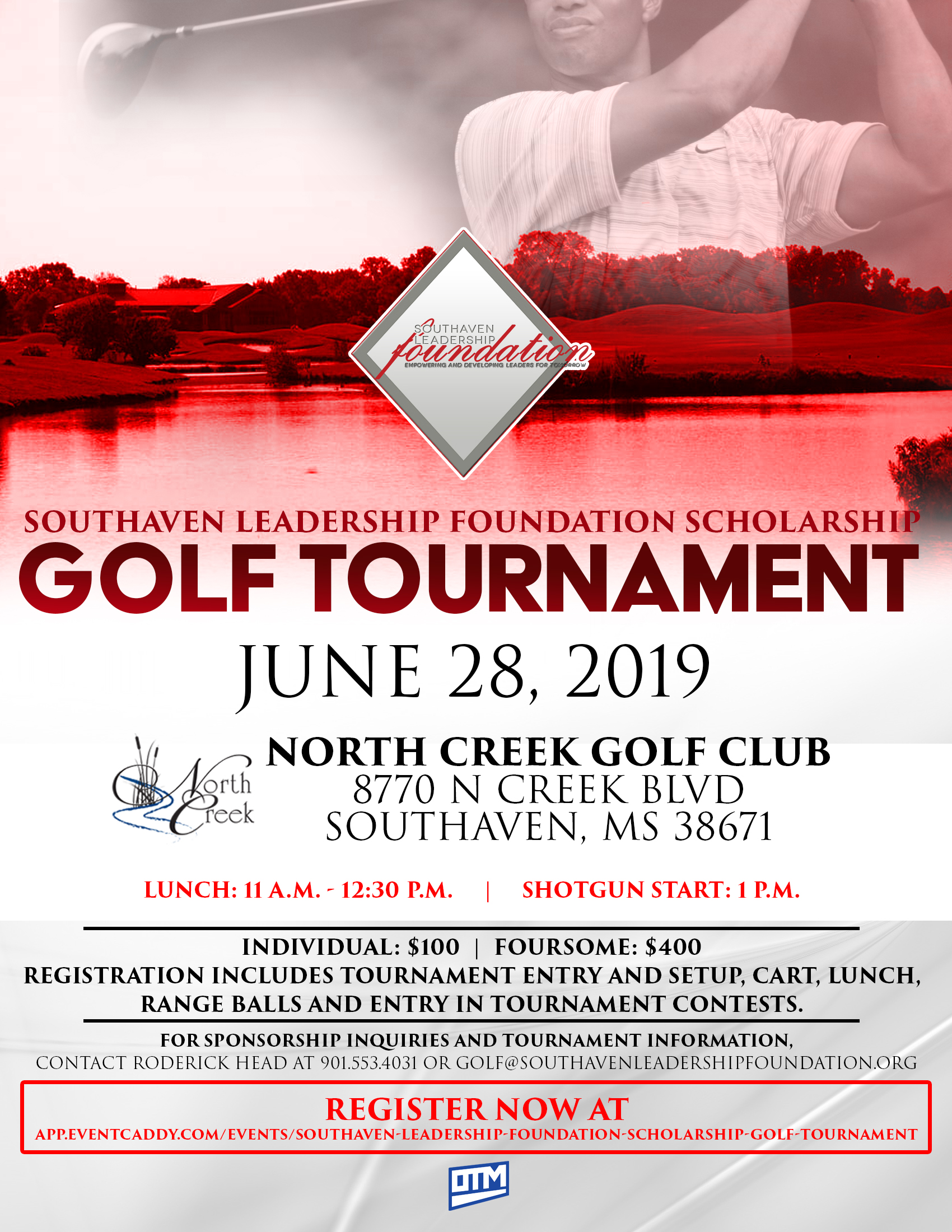 Southaven Leadership Foundation Scholarship Golf Tournament logo