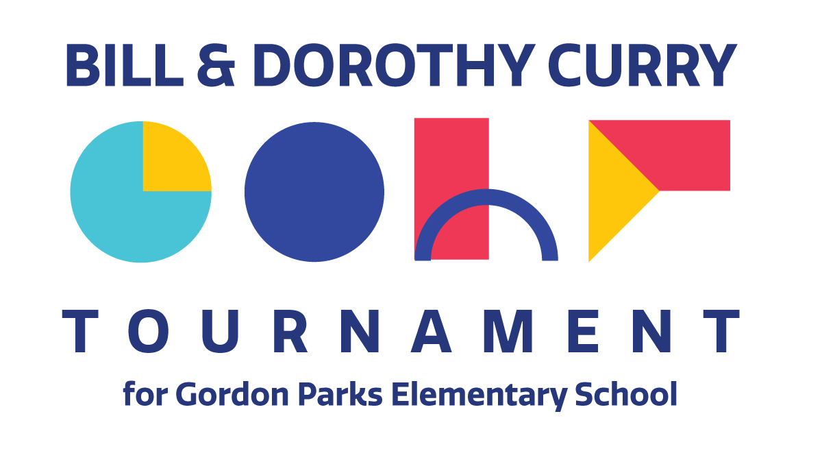 First Annual Bill & Dorothy Curry Golf Tournament for Gordon Parks Elementary School logo