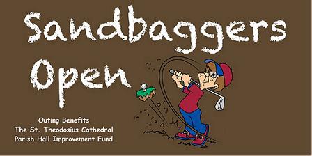 Sandbaggers Open logo