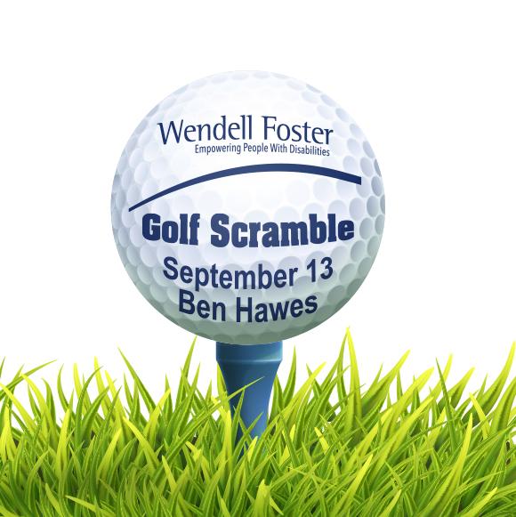 Wendell Foster's Golf Scramble logo