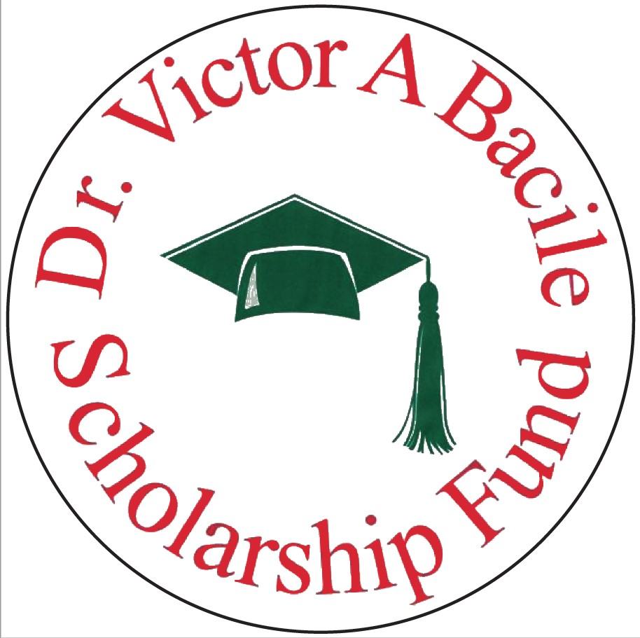 Dr. Victor A Bacile Scholarship Fund 27th Annual Golf Tournament logo